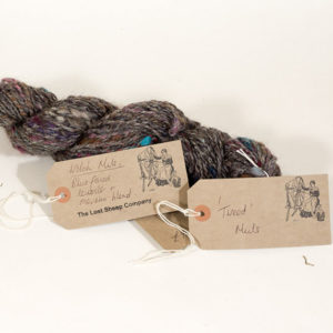 Welsh tweed yarn